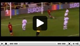 Video: Rodrigo scoort vier keer voor Jong Spanje