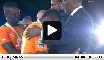 Video v/d dag: Zambia viert winst Afrika Cup