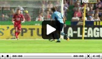 Video: Del Piero scoort fraai voor Sydney FC
