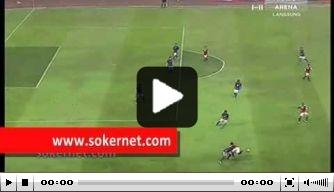 Video: spits Jemen scoort Messi-achtig