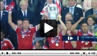 Video: Ribéry vindt medaille springende Mandzukic