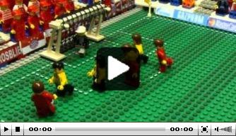 Video: de Champions League-finale in Lego