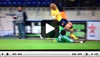 Video: gruwelijke tackle breekt been Sochaux-speler