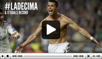 Video: de zeventien goals van CL-topscorer Ronaldo