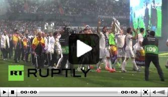 Video: Real Madrid zet feest voort in Bernabéu