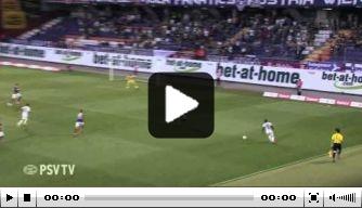 Video: PSV wint in slotseconde van Austria Wien