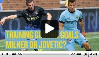 Video v/d dag: Jovetic en Milner schitteren op trainingsveld