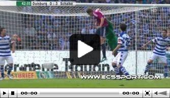 Video vd dag: Huntelaar helpt Schalke aan beker