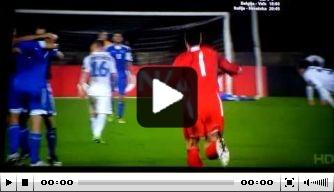 Video: San Marino viert historisch punt als een titel