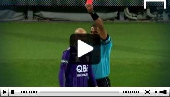 Video: Australiër pakt rood na zeventien seconden