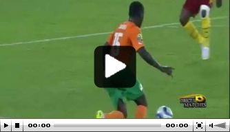 Video v/d dag: Gradel pegelt Ivoorkust naar kwartfinale