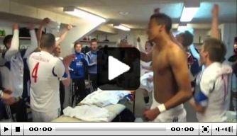 Video: spelers Faeroër Eilanden bejubelen verrassende zege