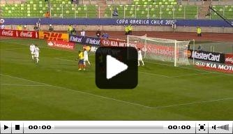 Video: Bolivia verrast Ecuador in Copa América