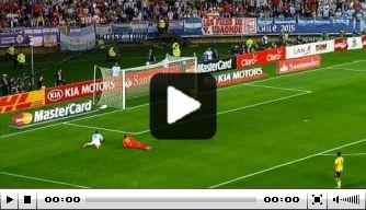 Video: Higuain schiet Argentinië naar overwinning op Jamaica
