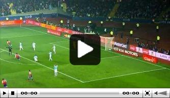Video: Argentinië rolt Paraguay op in halve finale