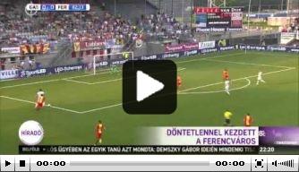 Video: de hoogtepunten van Go Ahead-Ferencváros