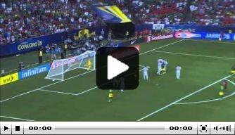 Video: Jamaica stunt tegen Amerikanen in Gold Cup